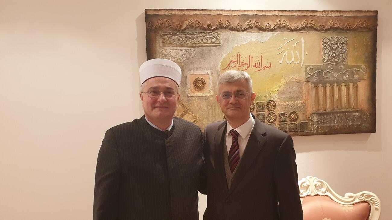 Muftija i veleposlanik