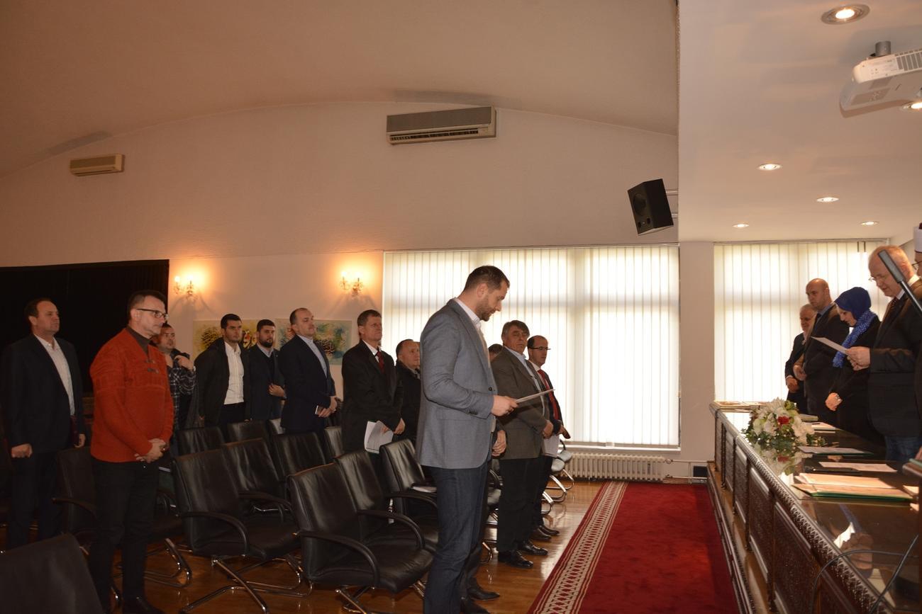 Harun Omerbašić Mešihat prisega